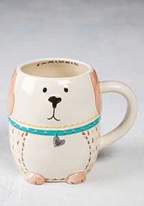 Mug-Folk Art dog