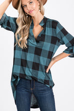 Shirt- Gabby Style Three Quarter Sleeve