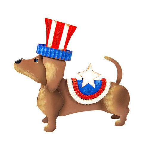 Round Top- Uncle Sam Dog Costume
