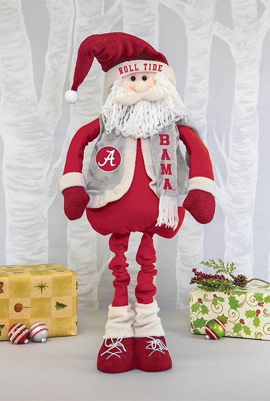 Alabama stretch leg Santa
