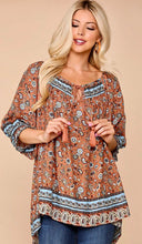 Shirt- printed Tunic