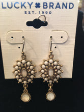 Jewelry-Lucky Brand Earring-Gold/White