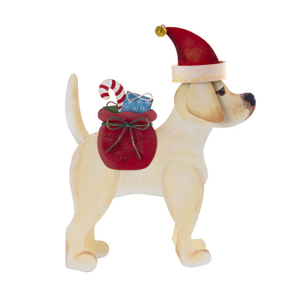 Round Top- Dog Santa Claus Costume