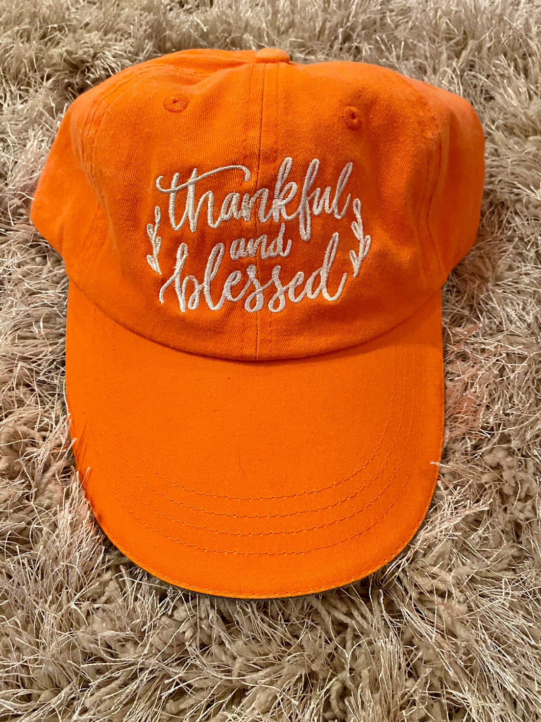 Cap- Thankful and Blessed