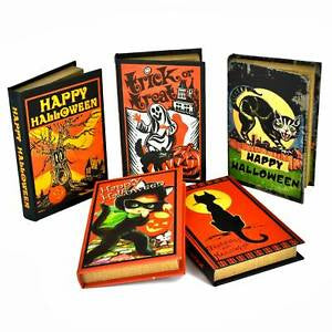 Halloween Book Boxes