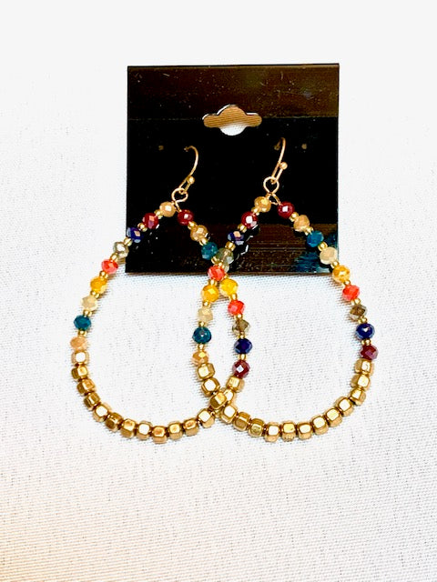Jewelry - Multi Faceted Loops