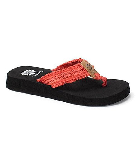 Sandal- Yellow Box- Fianni Red