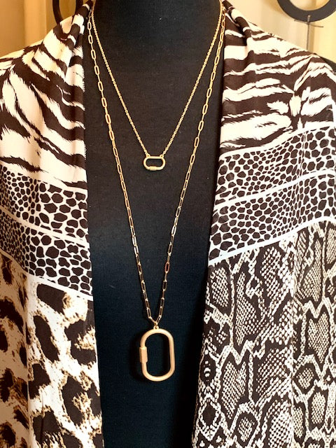 Jewelry- Long Gold Two Way Necklace