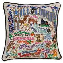 Pillow- Texas Hill Country