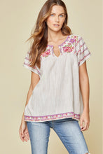 Shirt- Babydoll Embroidery