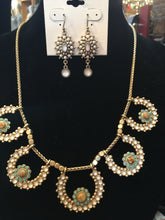 Jewelry-Lucky Brand-Gold with Green and White