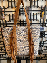 Purse- Woven with Fringe