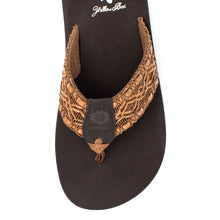 Sandals- Yellow Box- Fluster Brown