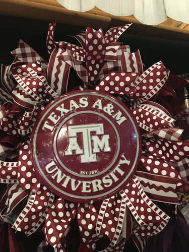 Wreath- A&M