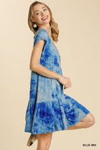 Dress- Blue Tie Dye