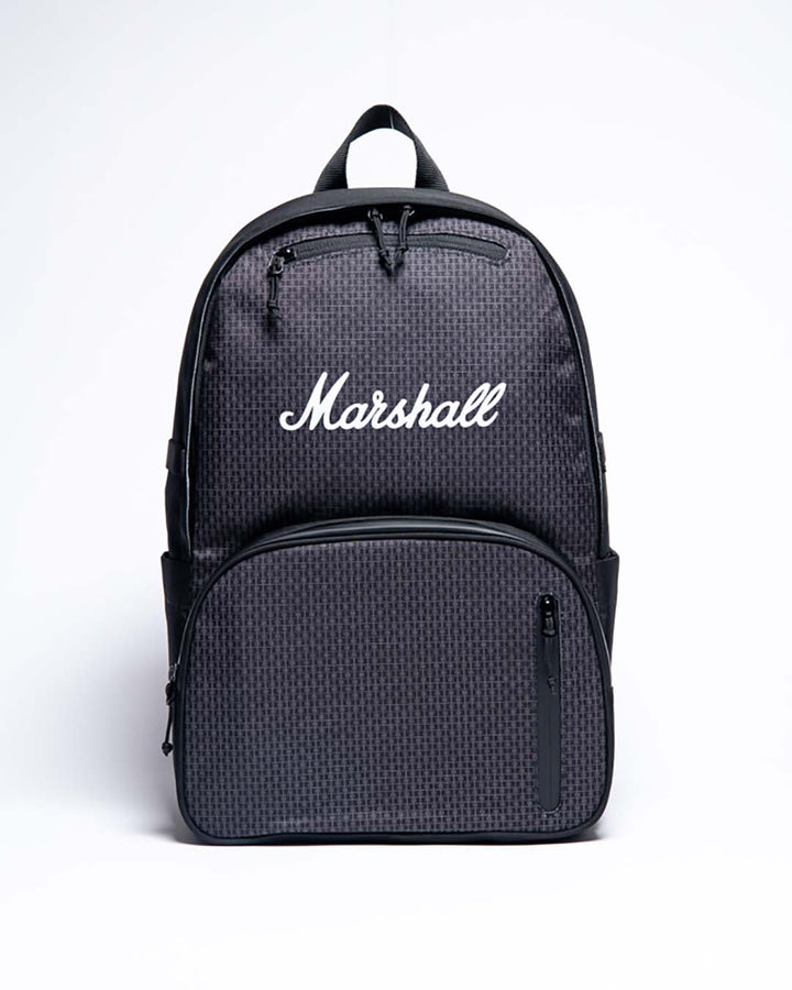 Underground Backpack in Black/White-Marshall Travel