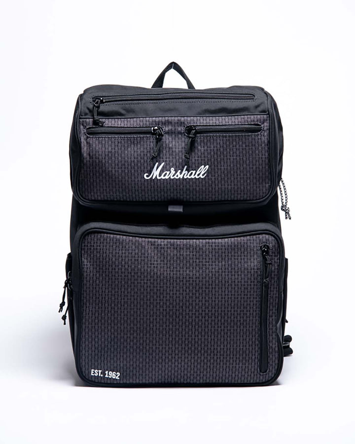 Underground Rocksack in Black/White-Marshall Travel