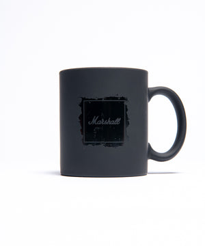 Marshall Logo Coffee Mug in Matte Black-Marshall Travel
