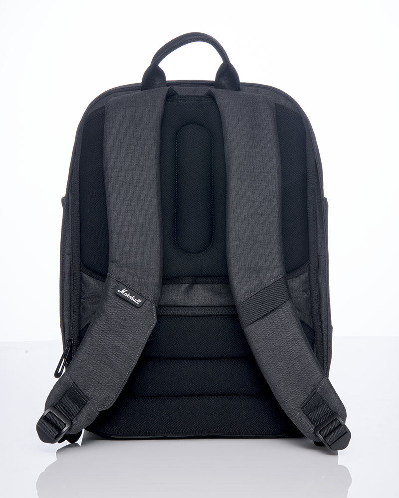 City Rocker Backpack in Black/Black-Marshall Travel