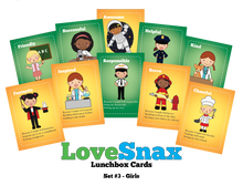 LoveSnax Lunchbox Cards Series 3