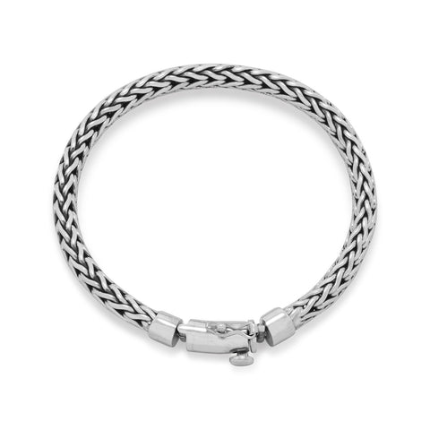 Oxidized Woven Bracelet | Worlds Largest Jewelry Store