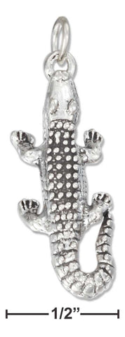 Sterling Silver Alligator Charm | Jewelry Store