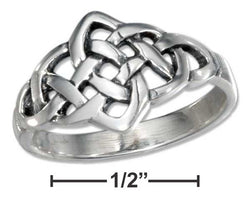 Sterling Silver Open Celtic Knot Ring | Jewelry Store