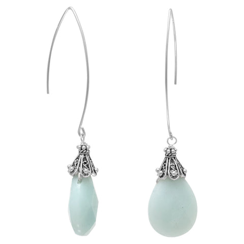 Baila Luna Mint Drop Earrings | Worlds Largest Jewelry Store
