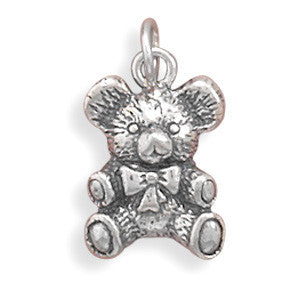 Antique Teddy Bear Charm | Worlds Largest Jewelry Store