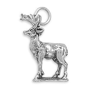 8 Point Buck Charm | Worlds Largest Jewelry Store