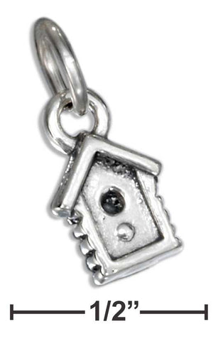 Sterling Silver Birdhouse Charm | Jewelry Store