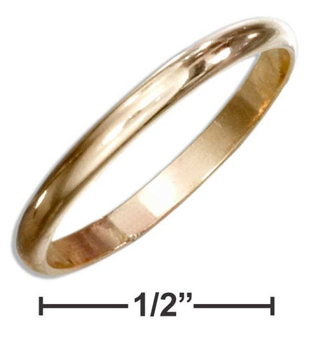 12 Karat Gold Filled 2mm Wedding Band Ring | Jewelry Store