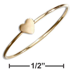 12 Karat Gold Filled Wire Ring With Heart | Jewelry Store