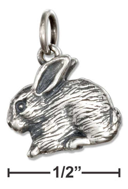 Sterling Silver Bunny Rabbit Charm | Jewelry Store