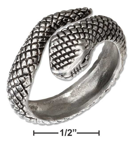 Stainless Steel Snake Ring | Worlds Largest Jewelry Store