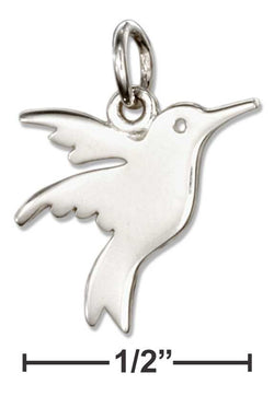 Sterling Silver Hummingbird Charm | Jewelry Store