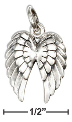 Sterling Silver Angel Wings Charm | Jewelry Store