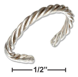 Sterling Silver Rope Band Toe Ring | Jewelry Store