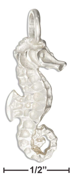 Sterling Silver Diamond Cut Seahorse Pendant | Jewelry Store