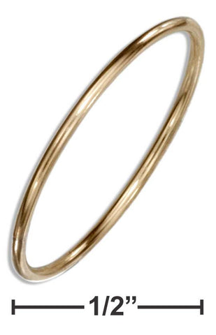 12 Karat Gold Filled 1mm Round Wire Band Ring | Jewelry Store