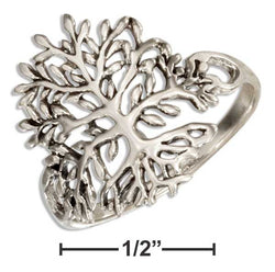 Sterling Silver Tree Of Life Ring | Jewelry Store