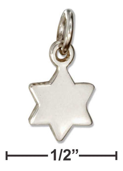 Sterling Silver Mini Star Of David Charm | Jewelry Store