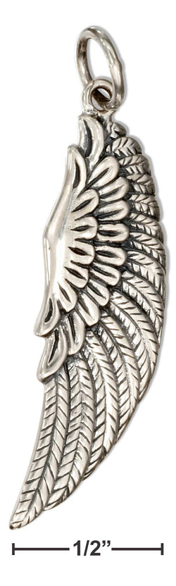 Sterling Silver Angel Wing Charm | Jewelry Store