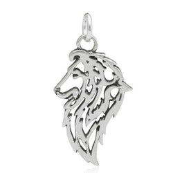 Sterling Silver Shetland Sheepdog Sheltie Pendant, Head | Jewelry Store