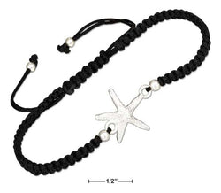 Sterling Silver Starfish Cord Bracelet Anklet | Jewelry Store