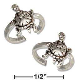 Sterling Silver Pair Of Turtle Ear Cuffs | Jewelry Store