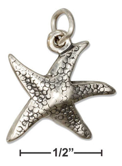 Sterling Silver Starfish Charm | Worlds Largest Jewelry Store