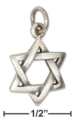 Sterling Silver Jewish Star Of David Charm | Jewelry Store