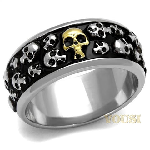 Womens IP Two Tone (Gold & Silver) Ring RI0T-08118