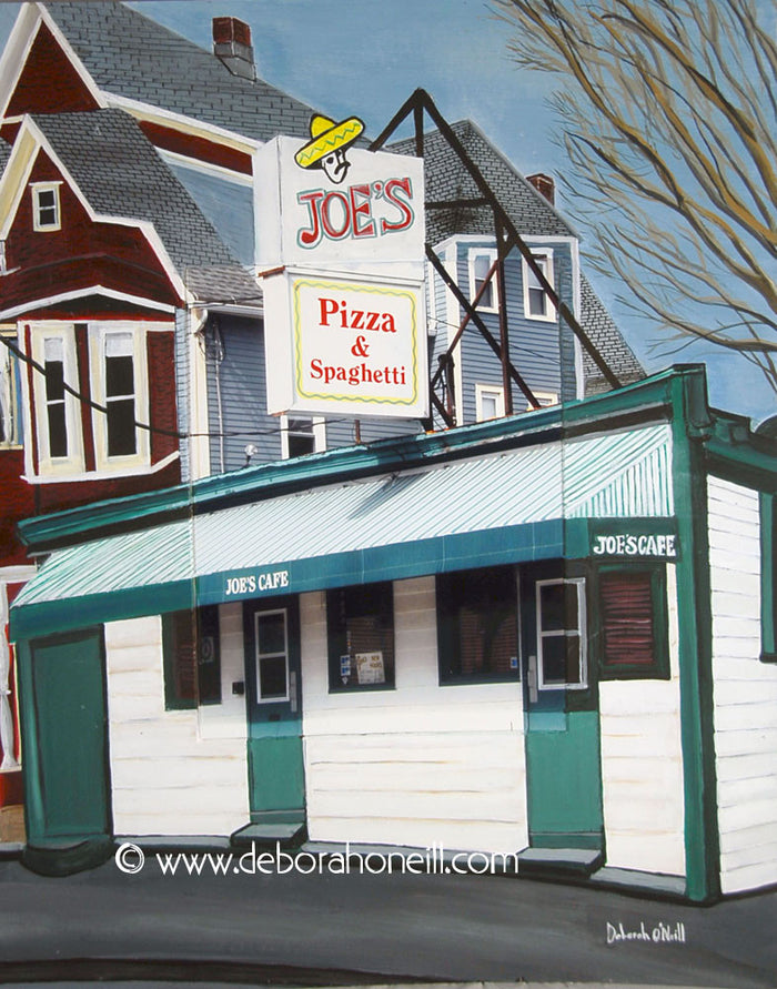 Joe's Café Photo Painting Prints